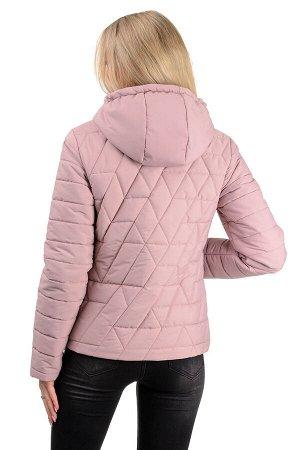 Демисезонная куртка «Клер»,р-ры 42-48, №233 пудра