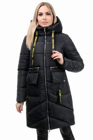 Пальто «Юлианна», 44-50, арт.275 черный