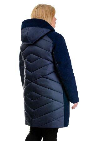 Зимняя куртка «Ингрида», р-ры 48-56, №225 т.синий