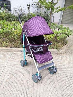 Коляска детская прогулочная B818 (1/2) фиолетовая