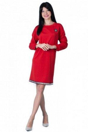 """Платье П 499 """"Ж"""" (Красный)"""