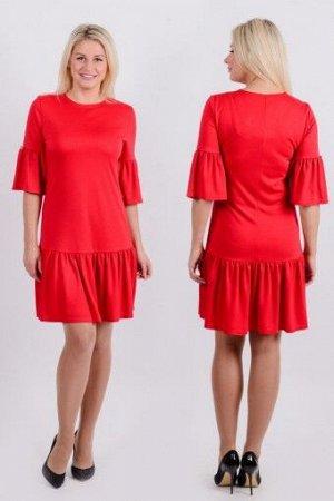 """Платье П 507 """"Ж"""" (Красный)"""