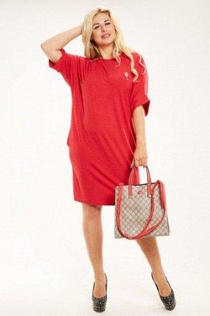 """Платье П 719/1 """"Ж"""" (Красный)"""