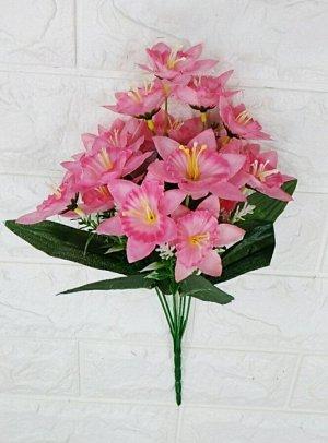 Цветы Высота 33см, 6 веток, 21 цветок, ⊙4см. Без выбора цвета