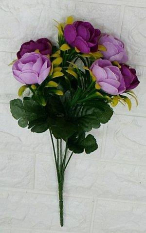 Цветы Высота 35см 6 веток, ⊙4см.  Без выбора цвета
