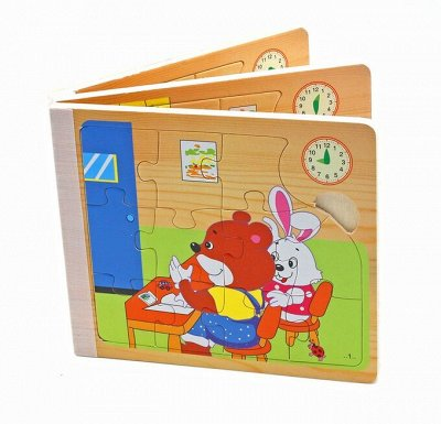 Мир развивающих игрушек Wood Toys™ — Пазлы