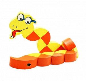 Змейка Большая желтая