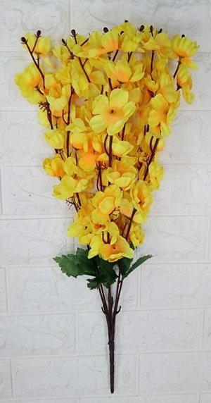 Цветы Высота 55см. 7 веток. Без выбора цвета.