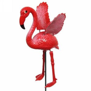 """Фигура на спице """"Фламинго"""" 13*40см"""