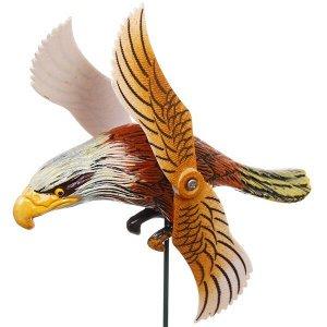 """Фигура на спице """"Орел"""" 14*40см с крутящимися крыльями"""