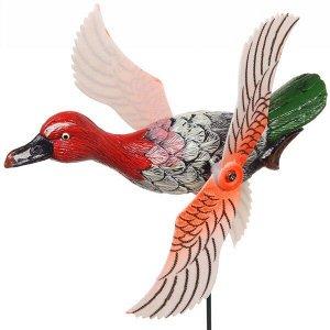 """Фигура на спице """"Утка"""" 14*40см с крутящимися крыльями"""
