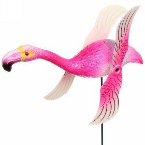 "Фигура на спице ""Фламинго"" 14*40см с крутящимися крыльями"