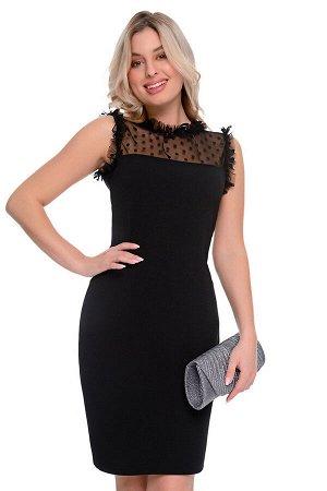 Платье Дана (чёрный) Р11-608