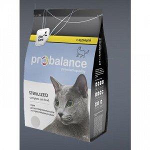 ProBalance Sterilized сухой корм для стерилизованных кошек 1,8кг