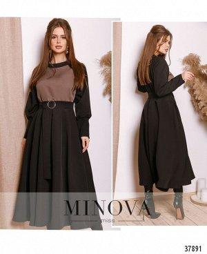 Платье №754Н-черный