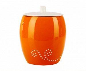 Maison (оранжевый) Урна для туалета (керамика)