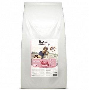 Karmy Delicious medium-maxi(телятина), 15 кг