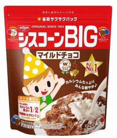 Кофе,соусы,приправы-продуктовый из Японии — Кукурузные и Шоколадные хлопья Nissin. — Каши, хлопья и сухие завтраки