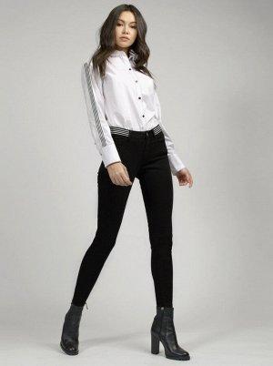 (908-1-coll) брюки джинсовые жен 32 25 р.