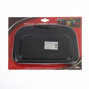 Подставка на подголовник MDC-106, пластиковая, черная