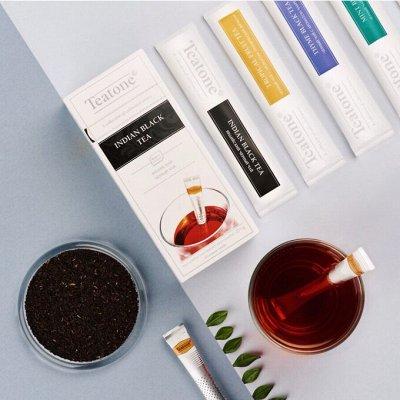 Кофе☕️чай🍵аксессуары от SOLO🔴 — Чай в стиках TEATONE — Чай