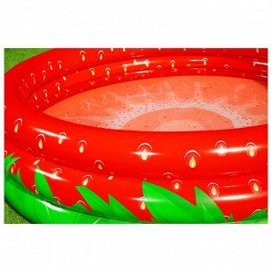 Бассейн надувной Sweet Strawberry, 160 x 160 х 38 см, 51145 Bestway