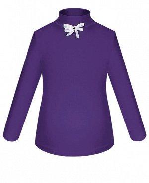 Фиолетовая школьная блузка для девочки Цвет: фиолетовый