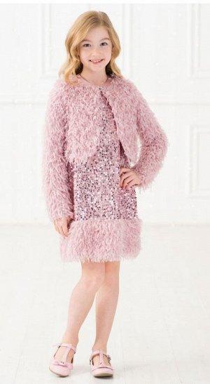 Детский нарядный комплект «Принцесса Лили» розовый