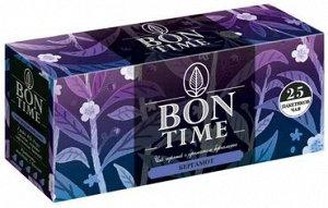 «Bontime», bontime чай черный с ароматом бергамота, 25 пакетиков, 50 г