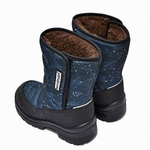 Зимние детские сапоги Nordman Lumi на липучке WHALE_SV#NAVY