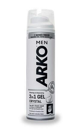 Гель д/бритья ARKO 200мл Crystal