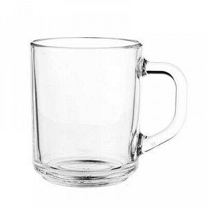 "ОСЗ Кружка стеклянная, 200мл, ""Green tea"", арт. 07с1335Т"