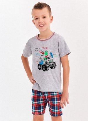 943/944 S20 DAMIAN Пижама для мальчиков с шортами