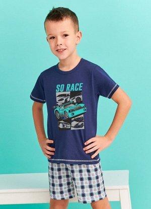 392/393 S20 FRANEK Пижама для мальчиков с шортами