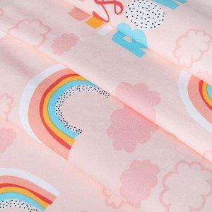 """Штора """"Этель"""" Pink Rainbow. 145*260 см. 100% хлопок"""