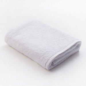 Полотенце махровое «Экономь и Я», размер 70х130 см, цвет белый