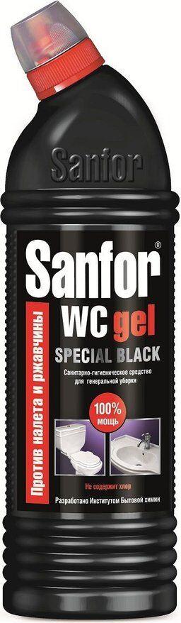 Чист.гель SANFOR 750мл WC Special Black д/генеральной уборки