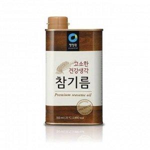 Кунжутное масло 1л ж/б 1/10 т.м. Дэсанг