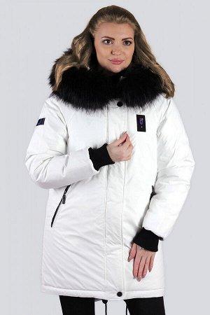 Белый Спортивная, стильная модель одежды, современный взгляд на  куртку-аляску. Такая вещь удобна и компактна, не стесняет движений и не создает неудобств. Универсальный вариант, который идеально подх