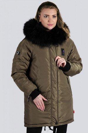 Хаки Спортивная, стильная модель одежды, современный взгляд на  куртку-аляску. Такая вещь удобна и компактна, не стесняет движений и не создает неудобств. Универсальный вариант, который идеально подхо
