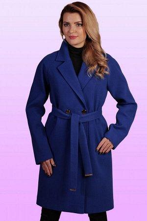 Синий Стильное и элегантное пальто с классическим покроем воротника заявит о безупречности вкуса. Удобный крой изделия и свободный объем придадут максимум комфорта обладательнице данного пальто. Это и