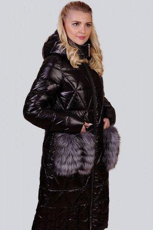 Черный Меховая отделка всегда считалась отличием изысканности и роскоши в дизайне стильной одежды. Модным выбором в последнем сезоне остается вариант с пушистым декором на карманах. Эта деталь выполне