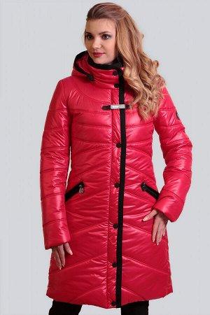 Красный Зимнее пальто с утеплителем термофин – один из самых удачных стильных выборов на холодный период для ежедневной носки. Преимуществом этой верхней одежды является ее легкость и практичность. Ут