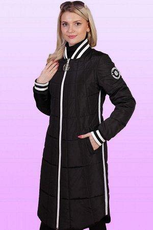 Черный Женское пальто-бомбер выглядит очень эффектно и способно стать базой для создания очень стильного образа.  Пальто – бомбер идеально вписывается в любой спортивный образ, причем как по дизайну,