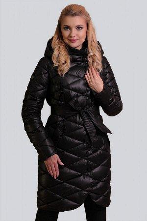 Черный Пальто на синтепухе – новый модный фаворит современных женщин.  И, что важно, на всех возрастных категориях пальто на синтепухе смотрится достойно. Синтепух (синтетический пух) – это самый лучш