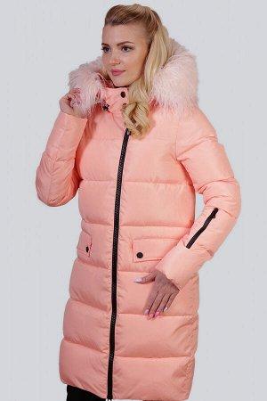 Персиковый Зимнее пальто с утеплителем синтепух – один из самых удачных стильных выборов на холодный период для ежедневной носки. Без больших затрат вы приобретете себе зимнюю вещь, которую можно буде