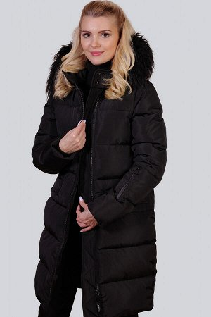 Черный Зимнее пальто с утеплителем синтепух – один из самых удачных стильных выборов на холодный период для ежедневной носки. Без больших затрат вы приобретете себе зимнюю вещь, которую можно будет но