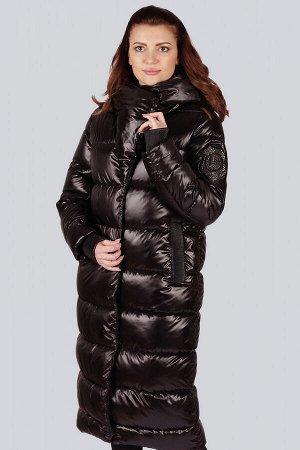Черный С приходом холодов каждая женщина задумывается о покупке красивой, теплой и удобной верхней одежды. Зимнее пальто на синтепухе-синтетическом пухе-отличный вариант на зимние холода. Пальто украш