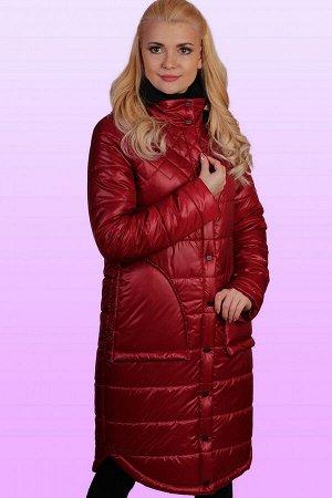 Бордо Пальто с вязаным с капюшоном – это актуальная вещь весеннего сезона, о приобретении которой стоит задуматься каждой девушке, обожающей разные стильные штучки. Пальто на термофине будет как нель