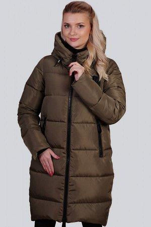 Хаки Зимнее пальто с утеплителем синтепух – один из самых удачных стильных выборов на холодный период для ежедневной носки. Без больших затрат вы приобретете себе зимнюю вещь, которую можно будет носи